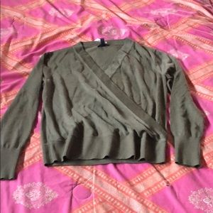 J. Crew crossover Merino sweater medium